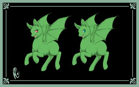 Prancing Pony: Batpony (dollbase) by xPoltergeistCatx