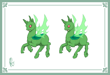 Prancing Pony: Changeling (doll base) by xPoltergeistCatx