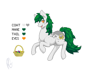 Inspired Pony Design: Sam by xPoltergeistCatx