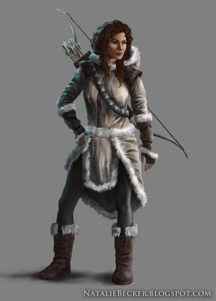 Arctic Archer by Natalie-Becker