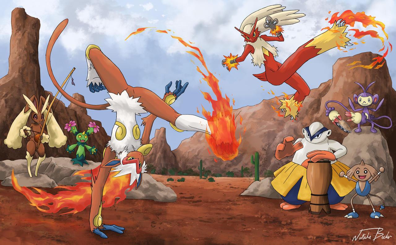 Pokemon Capoeira