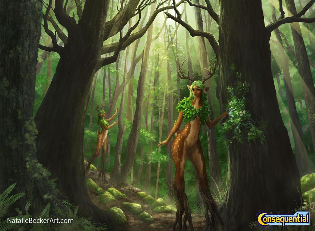 Tre'lifi - Sana'lin-Forest by Natalie-Becker