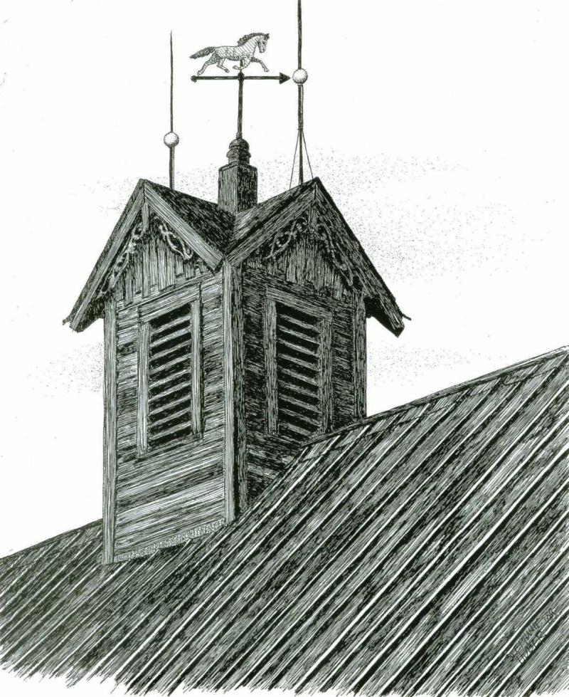 Barn Cupola By Purple Polkadots4 On Deviantart
