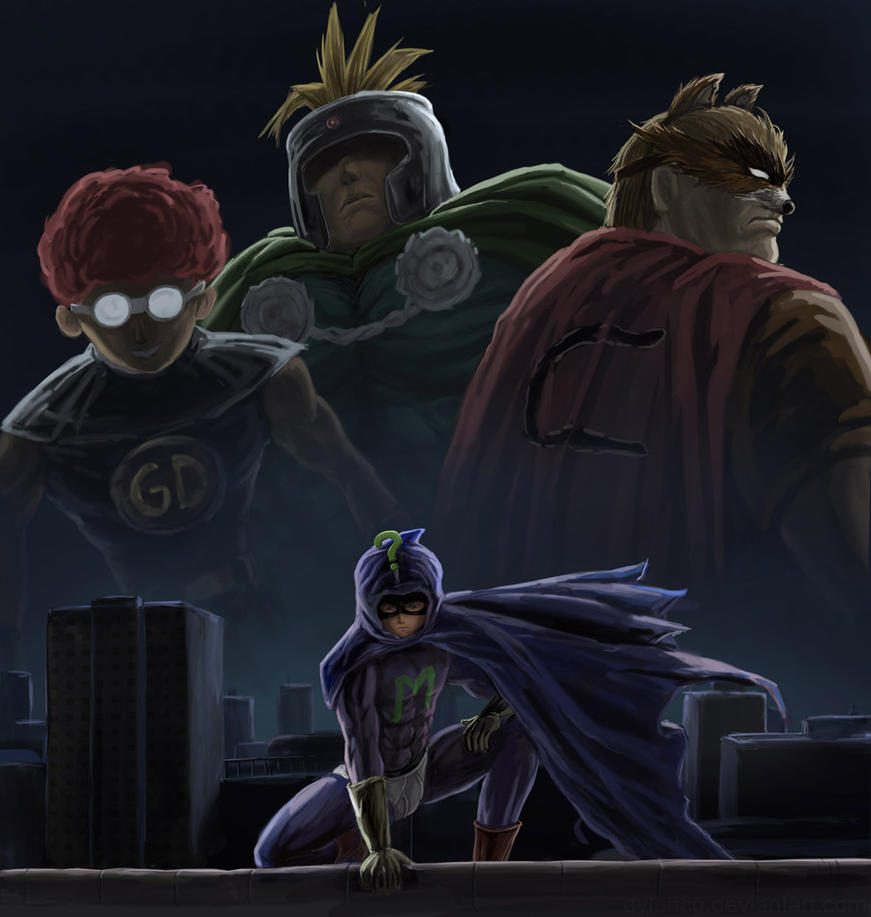 Mysterion by dylancg on DeviantArt