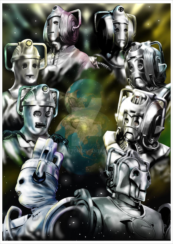 Evolution of the Cybermen by jlfletch