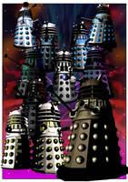 Evil-ution of the Daleks by jlfletch