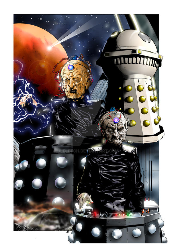We Are Davros by jlfletch on DeviantArt