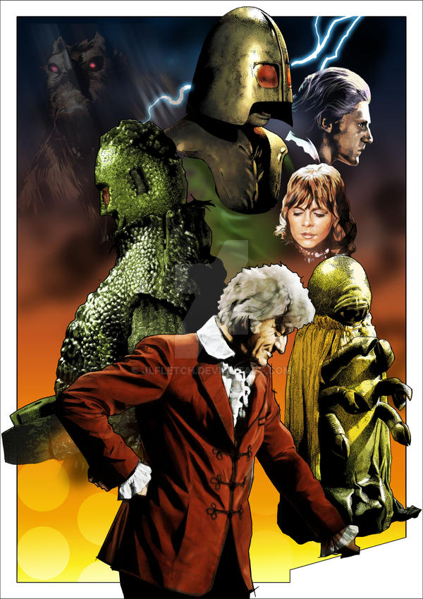 Dr Who -  The Curse of Peladon by jlfletch