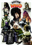 Tom Baker - Monsters print 4