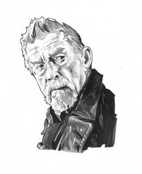 The War Doctor Marker and Pencil Art