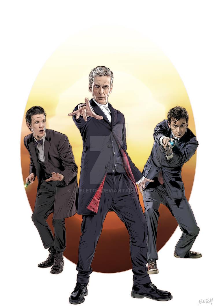 The Last Three Doctors A4