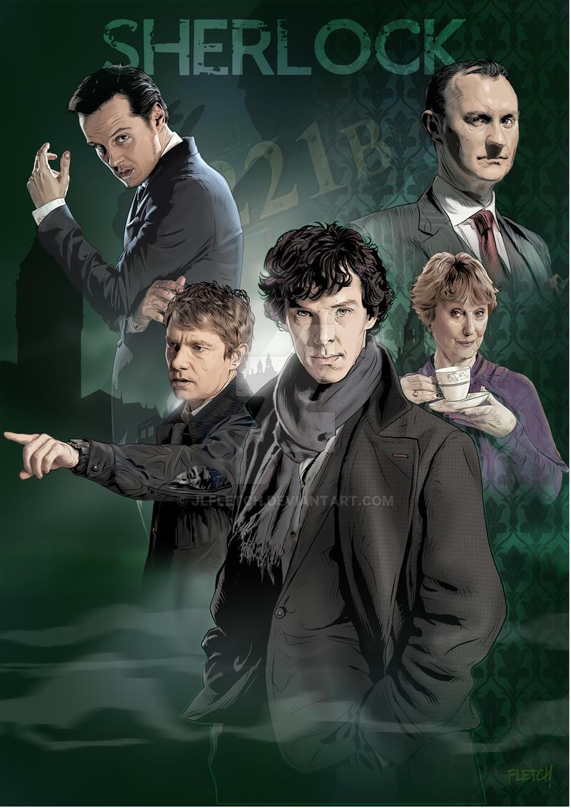 Sherlock A4 by jlfletch