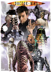 Tennant Monsters all new A4 Complete