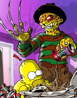 Nightmare in Springfield by jlfletch