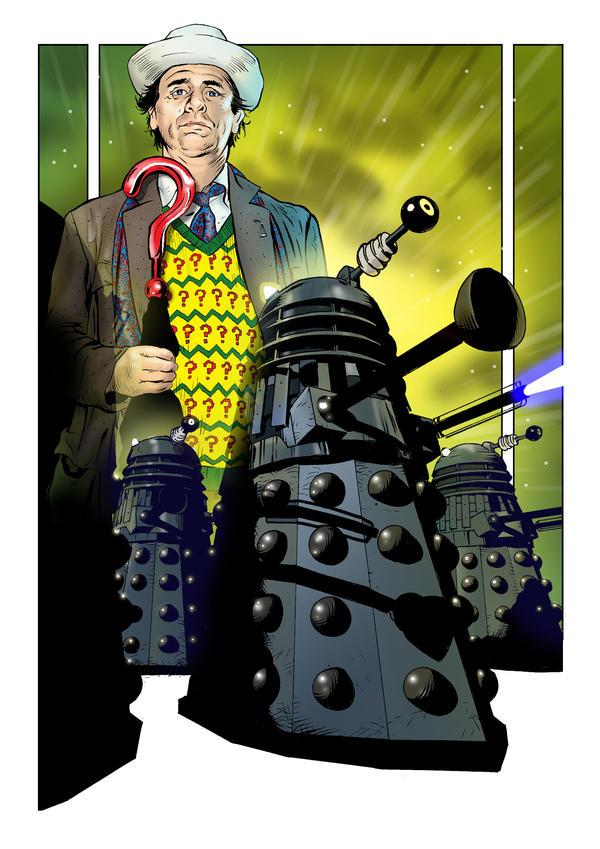 Renegade Dalek Faction. by jlfletch