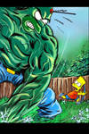 Hulk Homer by jlfletch