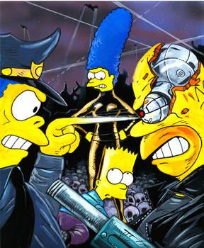 Bart Vs the Terminators