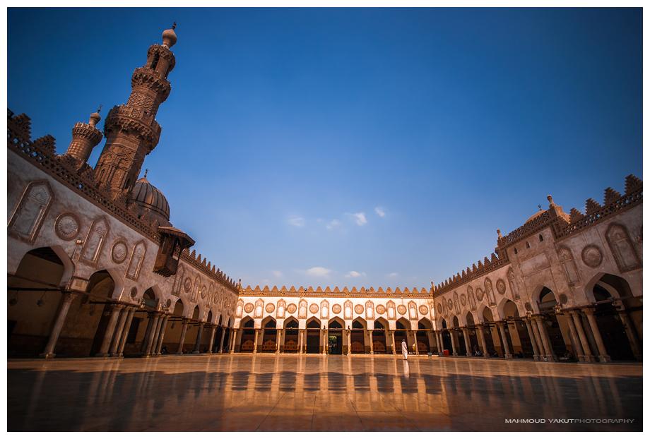 Al-Azhar mosque by MahmoudYakut