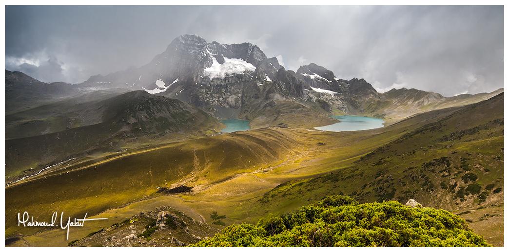 Haramukh Peak by MahmoudYakut