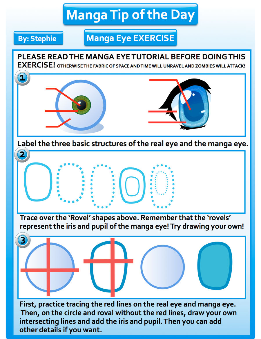 manga eye drawing exercise by mangatipoftheday manga eye drawing exercise  by mangatipoftheday