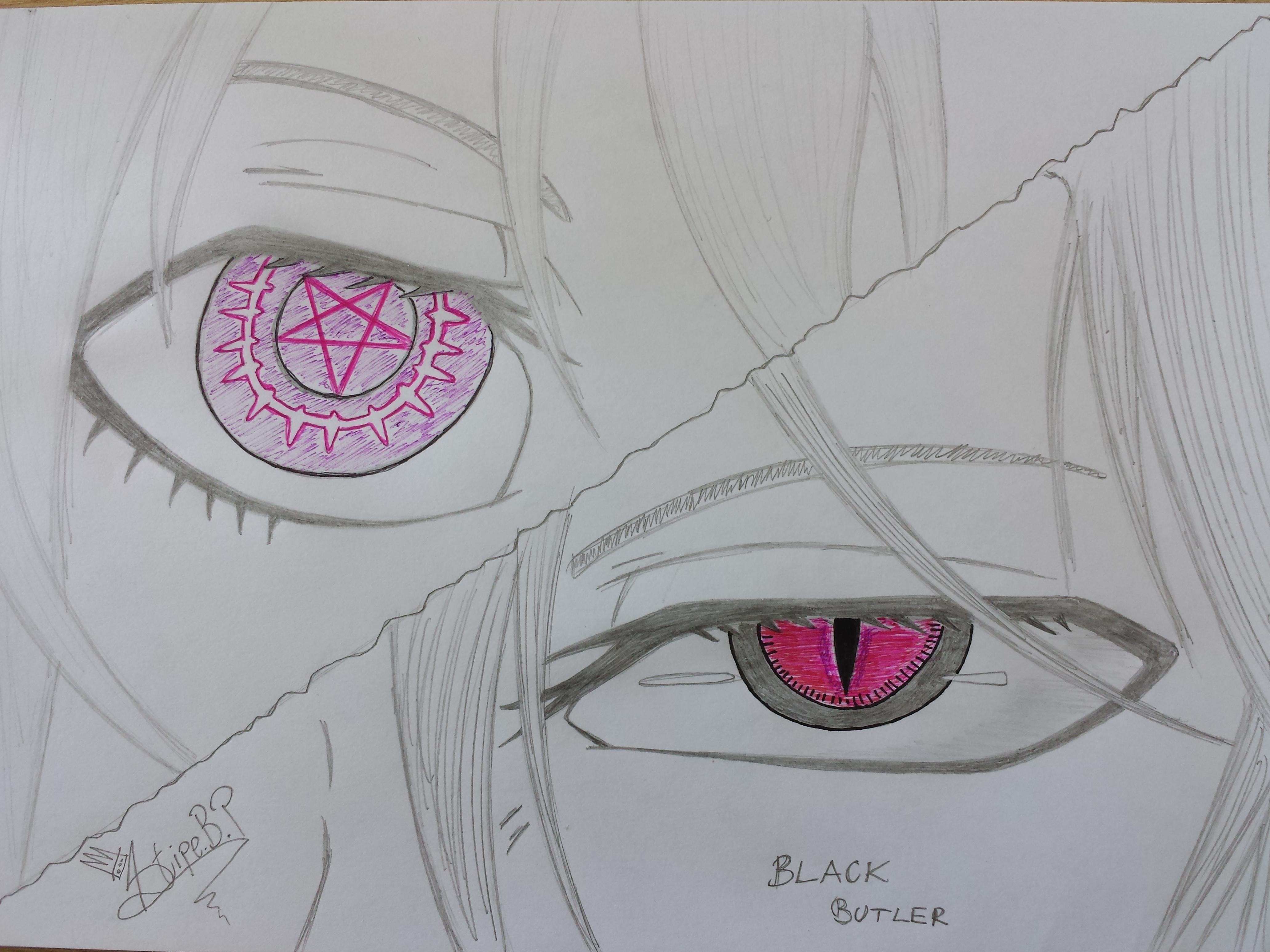 Black Butler ( Sebastian and Ciel ) by stipe320