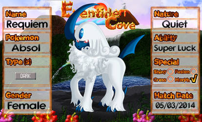 PKMNation Ref - Requiem the Absol by EventideCove