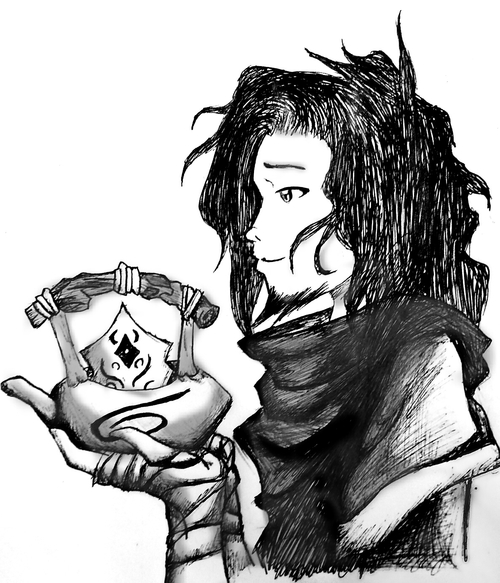 Raava And Vaatu Tattoo Teapot raava by loveless454Teapot Drawing Tumblr