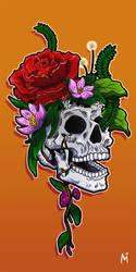 Skullflower by Missae-no-Sekai