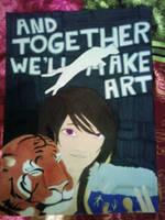 Together Let's Make Art by Sakurablossom34
