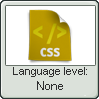 Css Lang None Lvl Stamp by NuclearRadiation