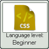 Css Lang Beginner Lvl Stamp by NuclearRadiation