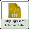 Css Lang Intermediate Lvl Stamp by NuclearRadiation