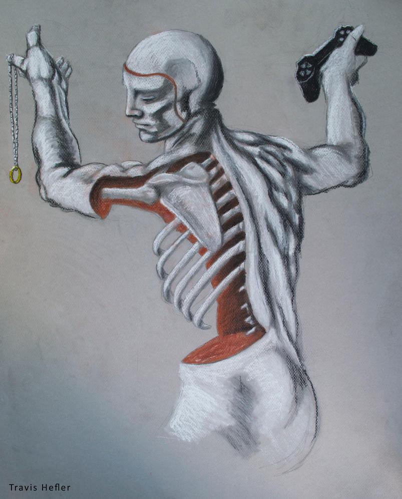 Skeleton Master Study by Swaptrick