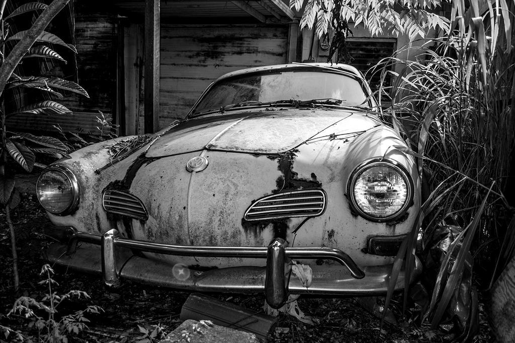 Abandoned Karmann Ghia 2 by Swaptrick