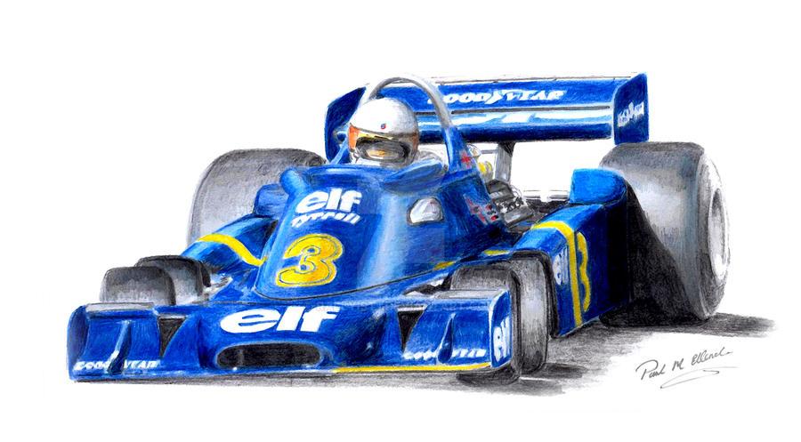 Jody Scheckter Tyrrell P34 by Rallyist1