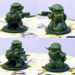 6mm high fox soldier (Very small....)