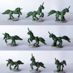 Pewter Ponies - Knights of the Round Stable