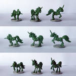 Pewter Ponies - Daughters of Cyberiel