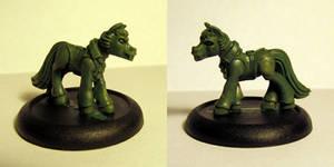 Swarthy Vampire Pony