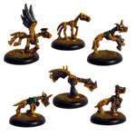 Skeleton ponies