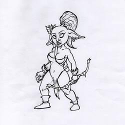 D and D / Goblin archer.