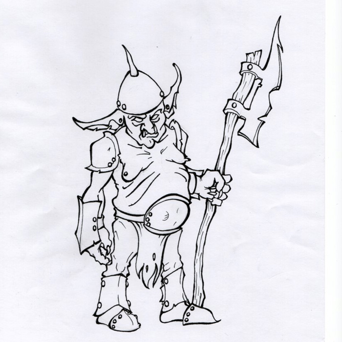 D and D / Goblin Chief/Heavy.
