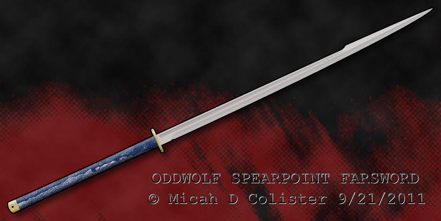Spearpoint Farsword by MicahDC