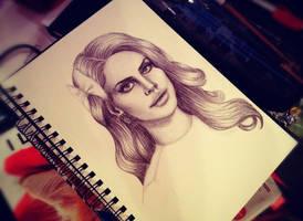 Lana Del Rey by grandiosedelusions