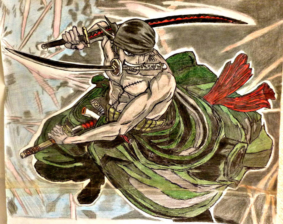 Roronoa Zoro Two Years After By KumadoriCP9