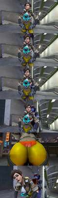 Tracer's Wedgie by WritingStoriesForFun