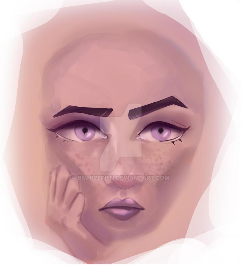 Purple Prose by bkarperien