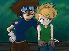 Digimon - Matt and Tai
