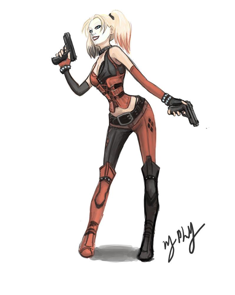 Harley Quinn - Arkham City by melimsah