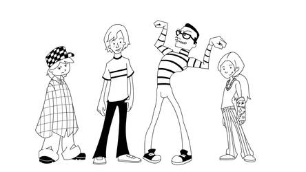 Adventures of Pete and Pete - Cartoon Concept